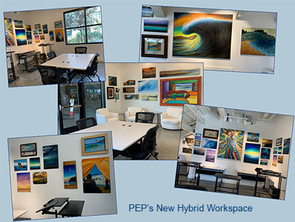 PEP Transitions to All Virtual with Non-Traditional Hybrid Workspace